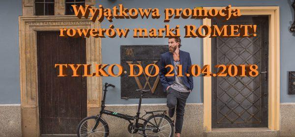 Wyjątkowa promocja rowerów marki ROMET
